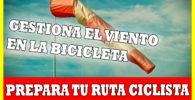 viento en el ciclismo