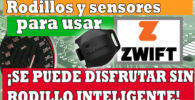 Sensores necesarios en Zwift